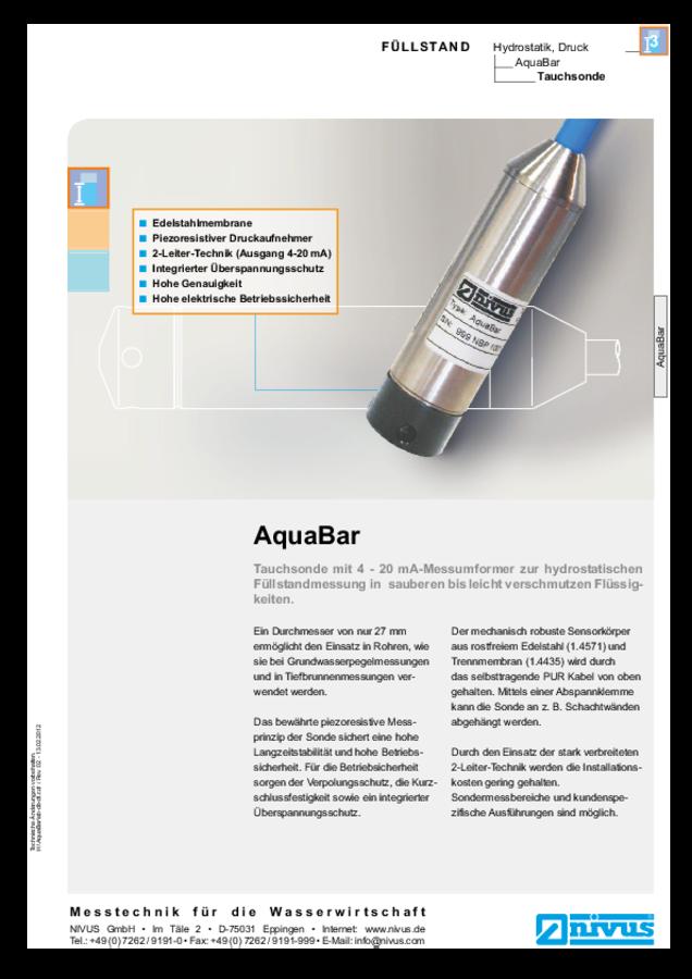 AquaBar II